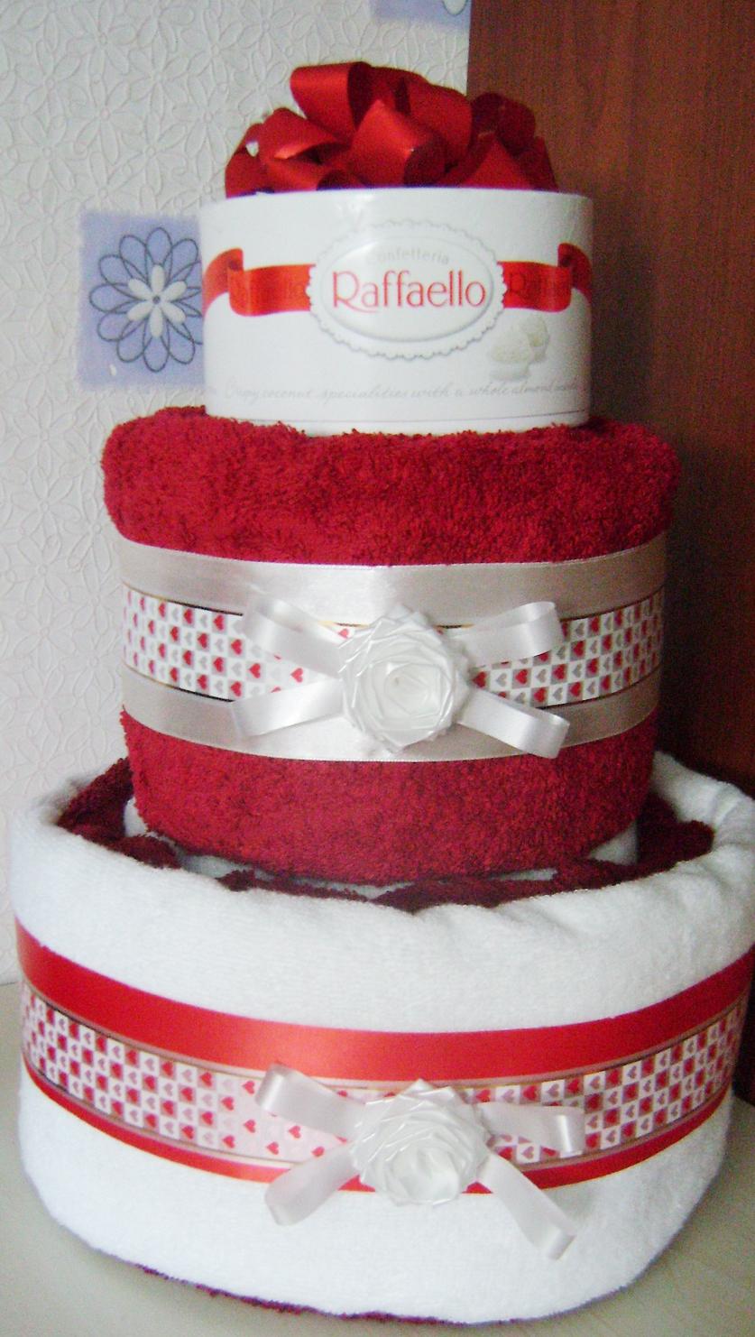 Подарки своими руками тортик